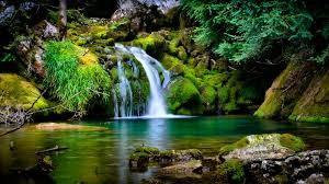 Eden waterfall