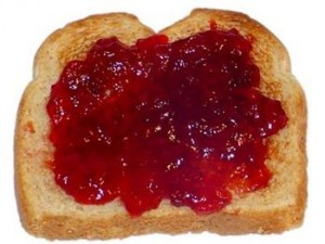 Toast and jelly