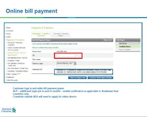 bill pay banking