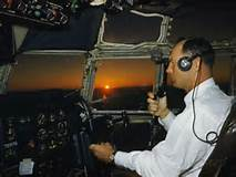 pilot on radio